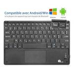 1byone Clavier Bluetooth AZERTY avec Multi Touchpad Ultra Fin, Clavier Tactile Pour Android et Windows de la marque 1Byone image 2 produit