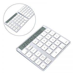 Alcey Magic Clavier et calculatrice Numérique sans fils Bluetooth avec pile Lithium de 6 mois rechargeable pour clavier sans fils Apple de la marque Alcey image 0 produit