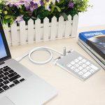 Alcey Pavé numérique USB avec hub USB intégré pour iMac, MacBook Air, MacBook Pro, MacBook, Mac Mini, PC et ordinateurs portabl de la marque Alcey image 3 produit