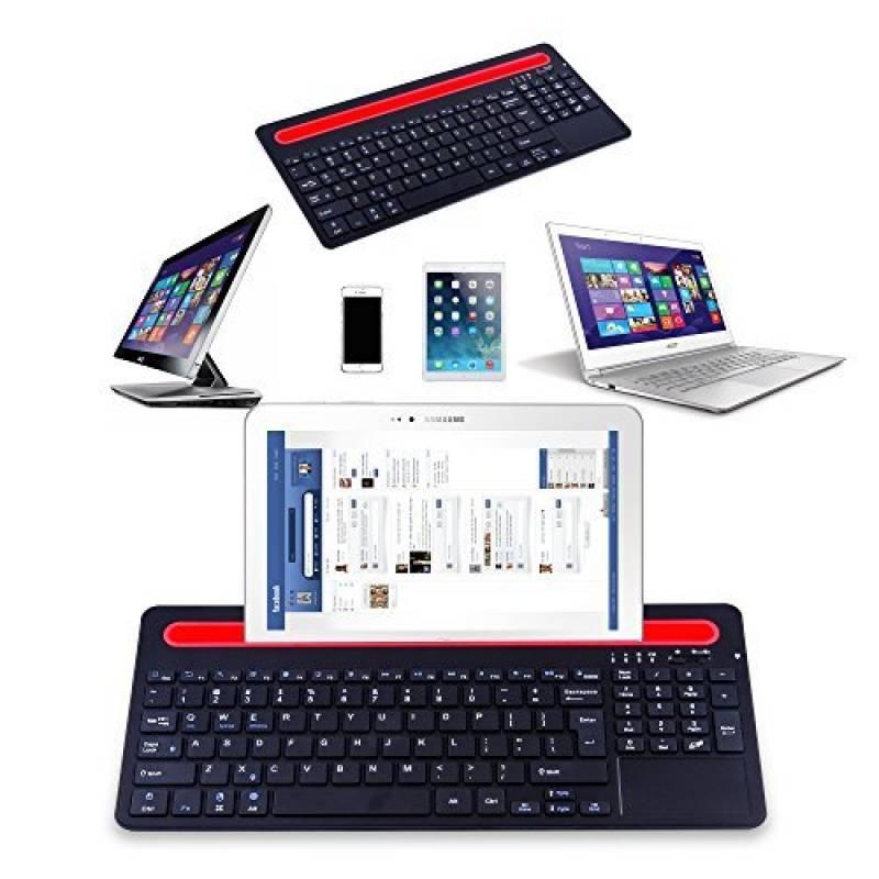 bas prix 075a8 0ac5d alitoo-clavier-sans-fil-bluetooth-avec-pave-tactile-et ...