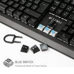 aLLreLi Clavier Gaming Mécanique USB Clavier de Jeu AZERTY avec 105 Touches LED RGB pour Joueur, dactylographes, etc de la marque aLLreli image 1 produit