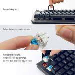 aLLreLi Clavier Gaming Mécanique USB Clavier de Jeu AZERTY avec 105 Touches LED RGB pour Joueur, dactylographes, etc de la marque aLLreli image 4 produit