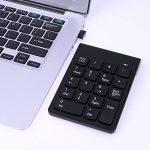 Amazingdeal Wireless 2.4 g mini 18-touches NUM pavé numérique nombre de claviers clavier ABS matériel pour ordinateur portable (plug and Play) de la marque Amazingdeal image 2 produit