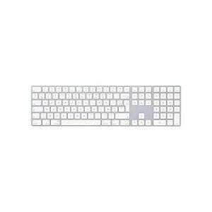 Apple MQ052F/A Bluetooth AZERTY Français Blanc clavier - Claviers (Standard, Sans fil, Bluetooth, AZERTY, Blanc) de la marque Apple image 0 produit