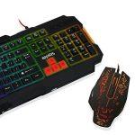 Approx Gaming Appiris Clavier et souris de gaming Noir/rouge 7,7x12x4cm 45,5x18x3,2cm de la marque Approx Gaming image 4 produit
