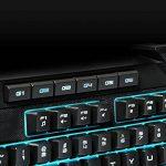 AROKH - K-2 - Clavier Gaming Semi-mécanique 116 touches - Noir de la marque AROKH image 4 produit