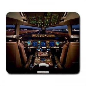 Boeing 777Avion Cockpit Tapis de souris Tapis de souris de la marque ToLuL image 0 produit