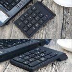 Bossgo Pavé numérique sans fil clavier numérique mini avec récepteur USB 2.4G pour MacBook iMac Windows Ordinateur portable de bureau avec 2 petites tablettes anti-dérapantes 18clés de la marque Bossgo image 6 produit