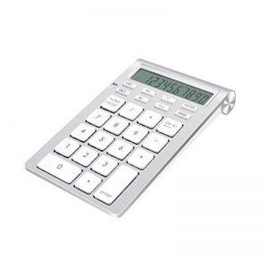 Cateck clavier numérique bluetooth numérique intelligent avec calculatrice pour iMac, MacBook, PC et ordinateurs portables de la marque Cateck image 0 produit