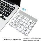 Cateck pavé numérique Bluetooth sans fil à 28 touches rechargeable pour iMac, MacBook Air, MacBook Pro, MacBook et Mac Mini de la marque Cateck image 2 produit