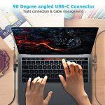 CHOETECH J-XCH-1201BK Câble USB C vers HDMI (3.9ft/1.2m) Adaptateur Câble Tressé 4K@60HZ Type C vers HDMI(Thunderbolt 3 compatible) pour Galaxy S9/S9 plus/S8/S8 plus/Note 8/Huawei Mate 10/10 Pro,2017/2016 Macbook Pro, ChromeBook Pixel de la marque CHOETEC image 1 produit