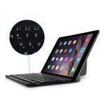 """Clavier ABS Bluetooth AZERTY + Étui Magnétique Universelle Tablette 9.7-12"""" pour Système de IOS, Android, Windows -Gris de la marque CoastaCloud image 1 produit"""