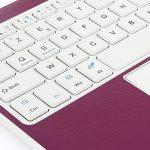 Clavier AZERTY Bluetooth 3.0 avec Touchpad tactile, Tablette Clavier Bluetooth pour tout système Windows Android OS Bluetooth Devices, fonctionner avec Tablette Ordinateur PC Smartphone de la marque CoastaCloud image 3 produit