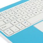 Clavier AZERTY Bluetooth 3.0 avec Touchpad tactile, Tablette Clavier Bluetooth pour tout système Windows Android OS Bluetooth Devices, fonctionner avec Tablette Ordinateur PC Smartphone de la marque CoastaCloud image 3 produit