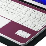 Clavier AZERTY Bluetooth 3.0 Étui Housse pour tout système Windows Android Tablette PC 9.0-10.6 pouces Touchpad tactile de la marque CoastaCloud image 5 produit