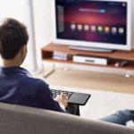 Clavier Bluetooth, Clavier sans fil USB iClever 2,4 GHz avec Touchpad haute sensibilité pour Smart TV Google Boîte aux lettres Raspberry HTPC IPTV Windows 10 de la marque iclever image 6 produit