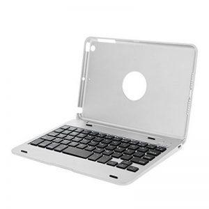 Clavier Bluetooth Sans Fil en Aluminium avec Couverture Pour ipad Mini 1 2 3 - Argent de la marque Générique image 0 produit