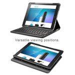 Clavier étui iPad Air 2 TeckNet Étui de protection pour iPad Air 2 Etui avec Clavier sans fil Bluetooth en AZERTY français de la marque TeckNet image 1 produit