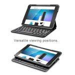 Clavier étui iPad, TeckNet Étui de protection pour iPad Mini 3/2/1, Etui avec Clavier sans fil Bluetooth en AZERTY français de la marque TeckNet image 1 produit