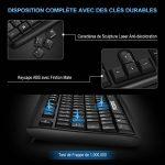 Clavier Filaire AZERTY VicTsing Clavier USB Français 104 Touches Wired Keyboard Résistant aux Déversements pour Windows 10/8/7/XP/Vista, Mac, Linux, etc de la marque VICTSING image 1 produit