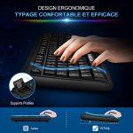 Clavier Filaire AZERTY VicTsing Clavier USB Français 104 Touches Wired Keyboard Résistant aux Déversements pour Windows 10/8/7/XP/Vista, Mac, Linux, etc de la marque VICTSING image 2 produit