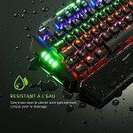 Clavier Gamer AZERTY VicTsing Clavier Gaming Mécanique USB Clavier Rétro-éclairé de Jeux avec 104 Touches LED RGB pour Joueur, Dactylo, etc de la marque VICTSING image 1 produit