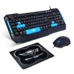 clavier gamer bleu TOP 2 image 1 produit
