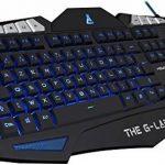 clavier gamer bleu TOP 8 image 1 produit