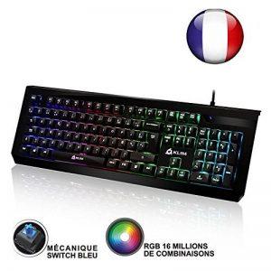 clavier gamer led bleu TOP 4 image 0 produit