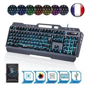 clavier led azerty TOP 9 image 0 produit