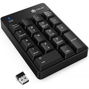 Clavier numérique iClever® IC-KP01- 18touches - Sans fil - Pour ordinateurs portables, PC, Macbook - Noir de la marque iclever image 0 produit