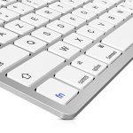 clavier ordinateur blanc sans fil TOP 2 image 2 produit