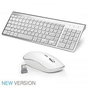 clavier ordinateur blanc sans fil TOP 4 image 0 produit