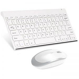 clavier ordinateur blanc sans fil TOP 9 image 0 produit