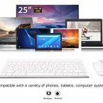 clavier ordinateur blanc sans fil TOP 9 image 2 produit