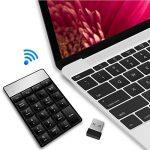 Clavier sans fil Paragraphe avec 23touches 2.4G Mini récepteur USB, mini clavier num Paragraphe Pad Clavier pour iMac, Macbook, iPad/Notebook, compatible avec tous les Windows de bureau et os x Système de de la marque Funey image 3 produit