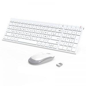 clavier souris blanc sans fil TOP 10 image 0 produit