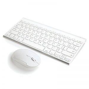 clavier souris blanc sans fil TOP 5 image 0 produit
