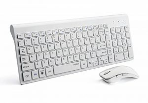 clavier souris blanc sans fil TOP 6 image 0 produit