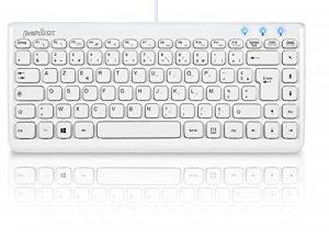 clavier usb blanc TOP 2 image 0 produit