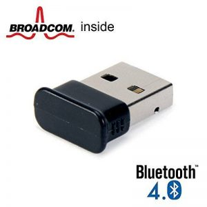 Clés bluetooth, GMYLE Nano USB Broadcom BCM20702 Classe 2 Bluetooth V4.0 Dual Mode Dongle Wireless Adaptateur avec LED de la marque GMYLE image 0 produit