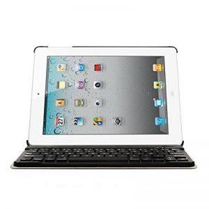 CoastaCloud étui housse en cuir pour iPad 2, iPad 3, iPad 4 clavier sans fil Bluetooth 3.0 - Clavier français AZERTY de la marque CoastaCloud image 0 produit