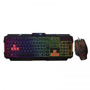 combo clavier souris gamer TOP 6 image 0 produit