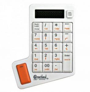 Connectland CL-Pavé-LK-10C-WH Pavé numérique USB avec Calculatrice Blanc de la marque Connectland image 0 produit