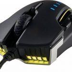 Corsair GLAIVE RGB Optique Souris Gaming (Rétro-Éclairge RGB Multicolore, 16000 DPI) Aluminium de la marque Corsair image 2 produit