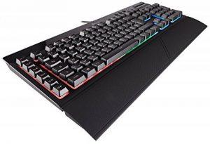 Corsair K55 Clavier Gaming (Rétro-Éclairage RGB Multicolore, AZERTY) Noir de la marque Corsair image 0 produit