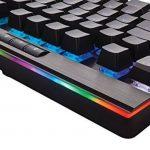 Corsair K95 RGB Platinum Clavier Mécanique Gaming (Cherry MX Brown, Rétro-Éclairage RGB Multicolore, AZERTY) Noir de la marque Corsair image 4 produit