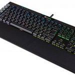 Corsair K95 RGB Platinum Clavier Mécanique Gaming (Cherry MX Speed, Rétro-Éclairage RGB Multicolore, AZERTY) Noir de la marque Corsair image 4 produit