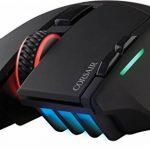 Corsair SABRE RGB Optique Souris Gaming (Rétro-Éclairge RGB Multicolore, 10000 DPI) Noir de la marque Corsair image 4 produit
