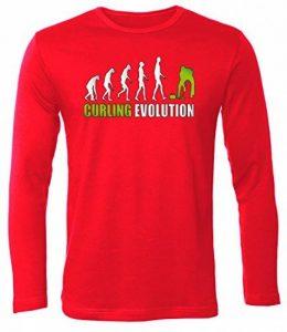 CURLING eVOLUTION t-shirt à manches longues pour homme à manches longues pour homme de la marque Love-All-My-Shirts image 0 produit